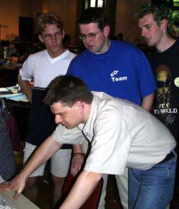 Delegierte am Rechner, BuKo 1999