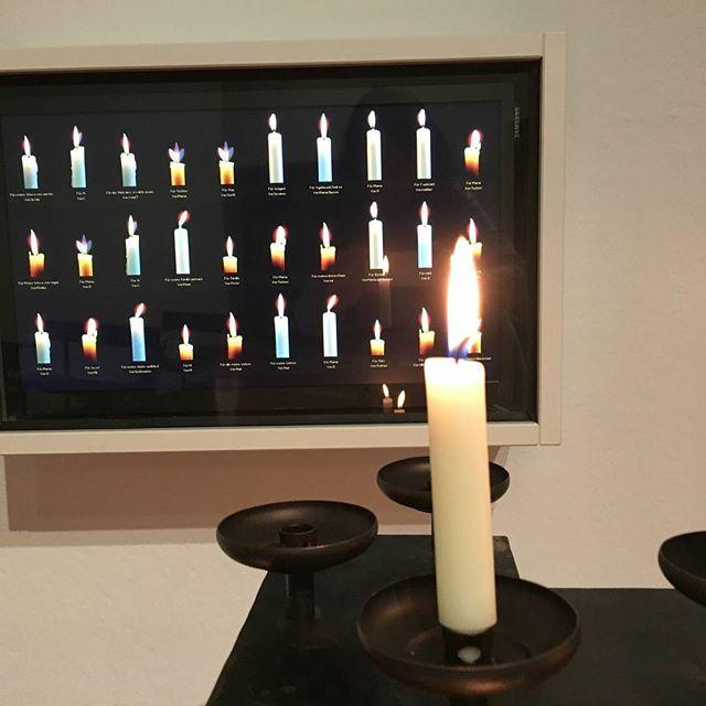 Online-Kerzen in der Abtei Königsmünster