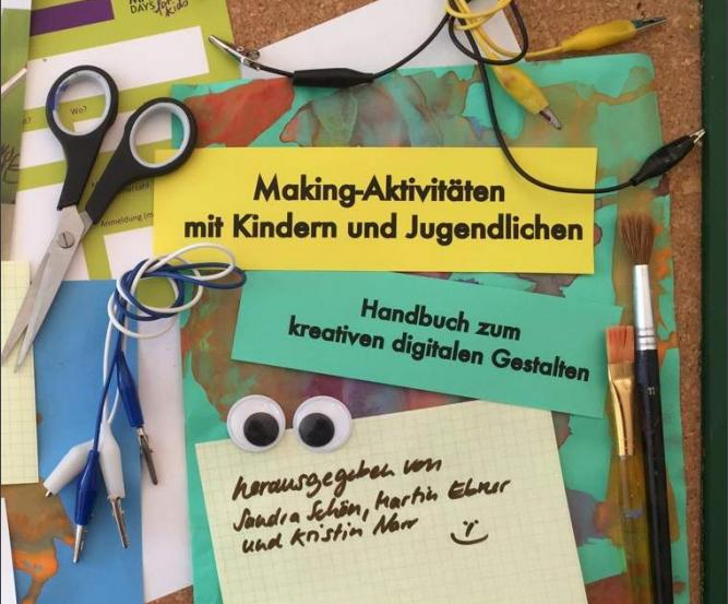 """Cover von """"Making-Aktivitäten mit Kindern und Jugendlichen"""""""