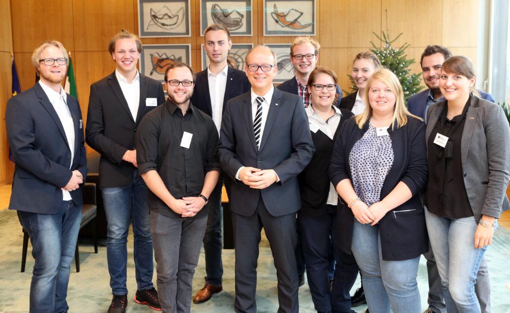 Kolpingjugend im Landtag NRW