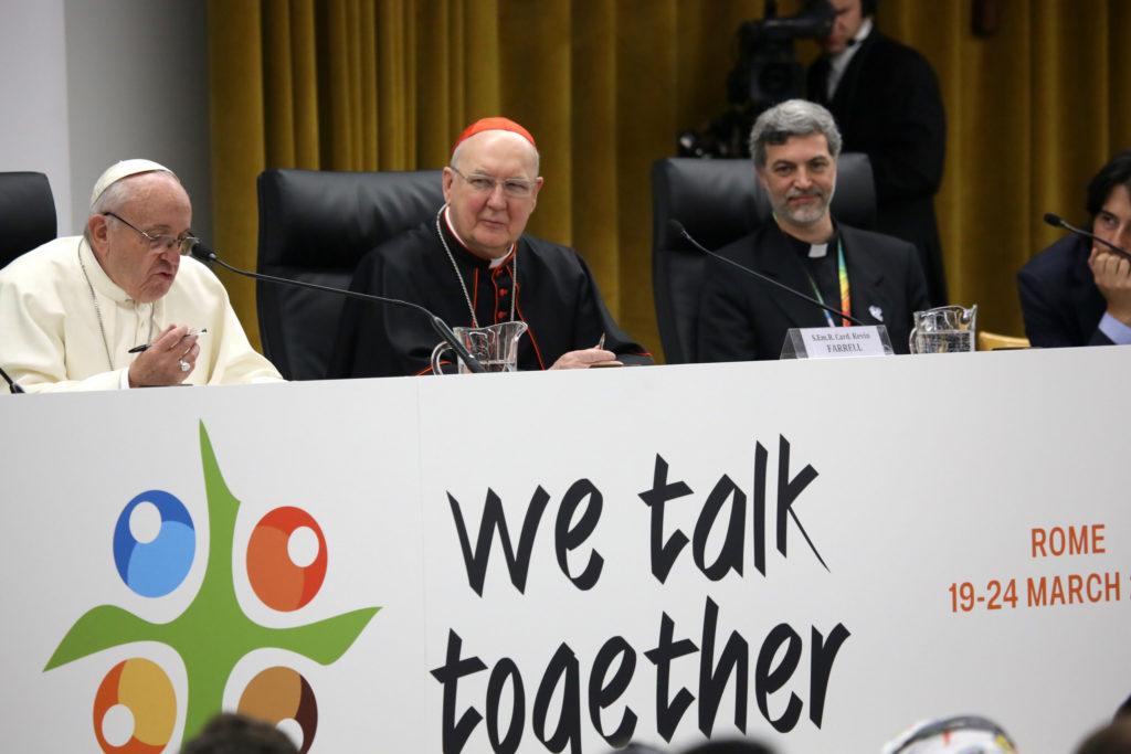Papst Franziskus spricht zur Vorsynode