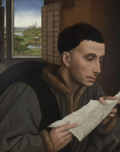 Rogier van der Weyden: Lesender Mann (St. Ivo?)