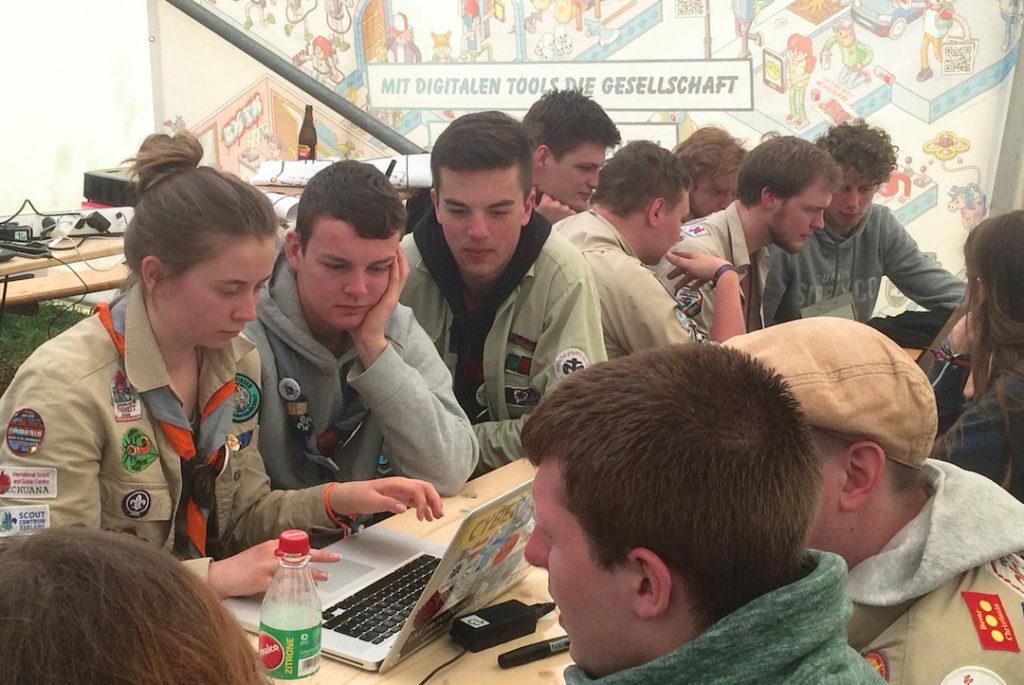 Hack-Workshop bei Leuchtfeuer