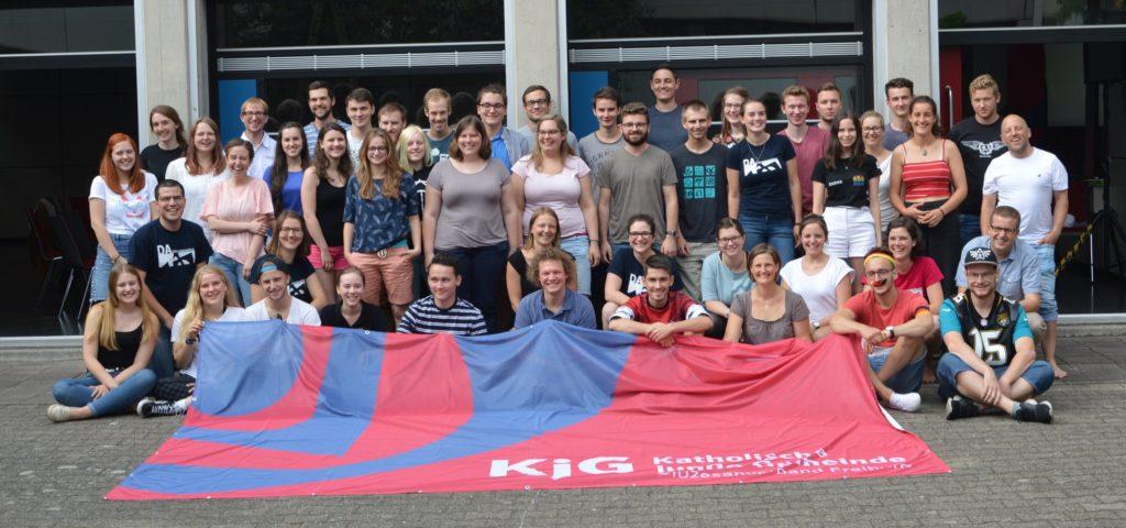 Gruppenbild der DiKo der KjG Freiburg